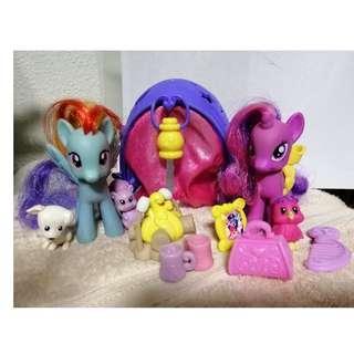 My Little Pony Rainbow Dash's Camping Trip & Twilight Sparkle