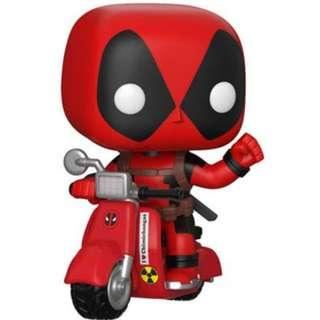 Funko Pop! Ride Marvel: Deadpool & Scooter Collectible Figure