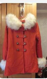 🚚 正Korea🇰🇷連帽毛毛大衣外套🧥