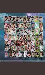 (WTB/WTT) GOT7 Miracle Photocards