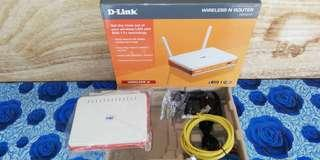 D Link TM Wireless Route