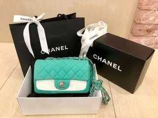 "Chanel mini flap 8"""