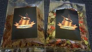 Makanan rumahan, tanpa pengawet, made by order