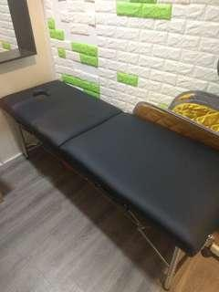 Almost new portable massage bed for quick sale!