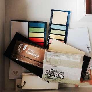 Notepad/Note marker Grab Bag