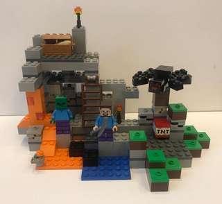 Lego Minecraft model 21113