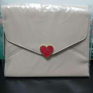 Sanrio Hello Kitty 手袋 米白色 全新
