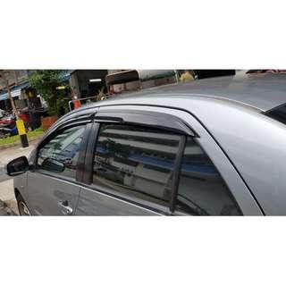 Toyota Vios 2007-2013 Door Visor