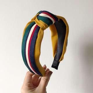 Colourful Striped Headband