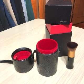 Shiseido blush leather box