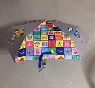 正品 Sanrio ~Mr Happy 雨傘