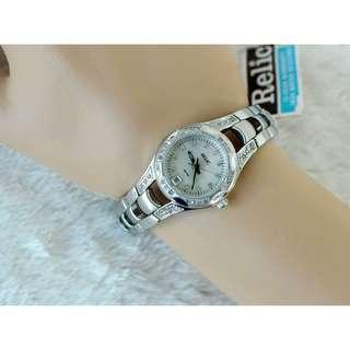 CRAZYSALE!AUTHENTIC PEARL DIAL RELIC BY FOSSIL WOMEN'S WATCH (COD IS AVAILABLE)