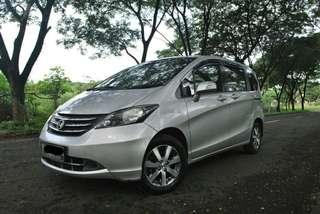 Honda Freed PSD 1.5 E AT 2010 DP 29jt