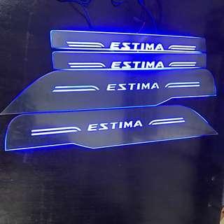 Toyota Estima / Previa LED Scuff Plate 2006 - 2019