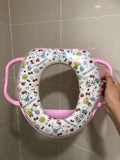 Like new hello kitty potty toilet seat toddler