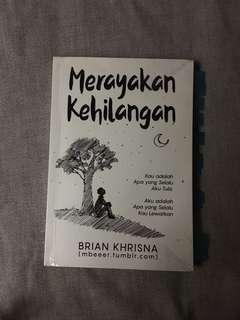 Novel merayakan kehilangan by brian khrisna