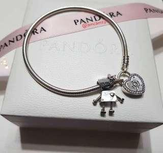Pandora Lock your Promise with Bella Bet