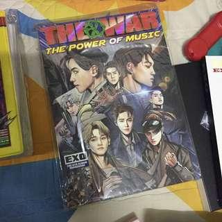 [WTS] EXO THE WAR REPACKAGE ALBUM POWER W/O PC