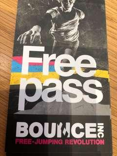 🚚 Bounce Trampoline park ticket/ pass