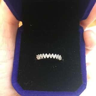 🈹清貨價!共20份9K白金真鑽石戒指 Diamond Ring