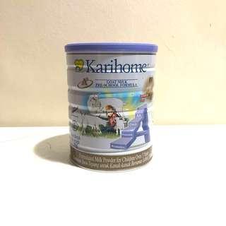 Brand New Karihome stage 4 goats milk formula