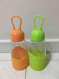 BN Glass Water Bottle