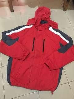 Mens Large Size Jacket with Hood
