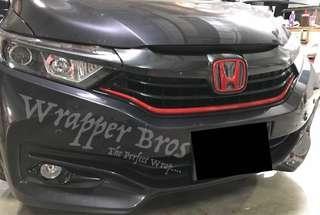Honda dechrome