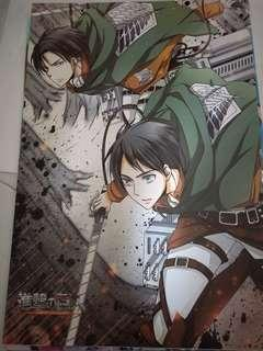 A3 attack on titan posters
