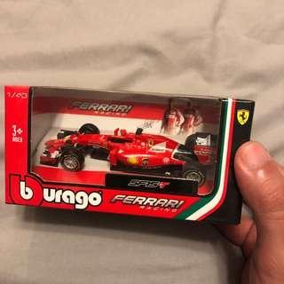 Ferrari F1 Burago toy