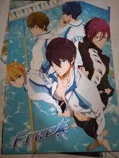 Free! A3 poster