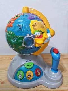 🚚 Vtech 世界探索地球儀