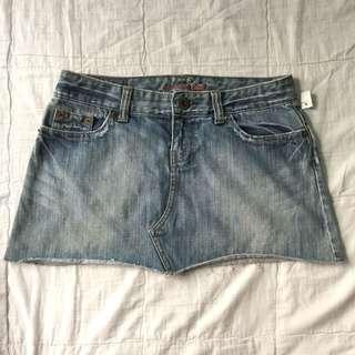 Small American Eagle denim skirt