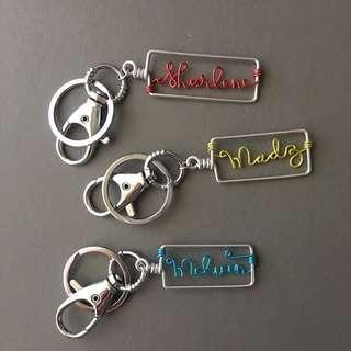 Customized keychain