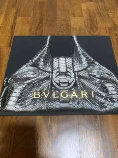 Bvlgari paperbag