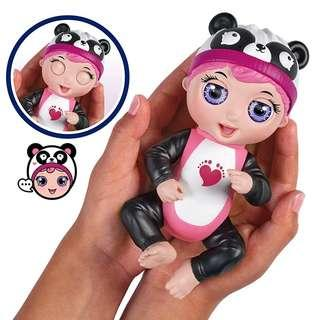 *In Stock* BN Tiny Toes Giggling Gabby - Interactive Panda Baby Toy