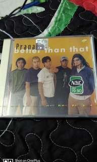 Prana Better Than That single CD