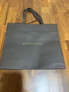 Bottega Venetia paperbag