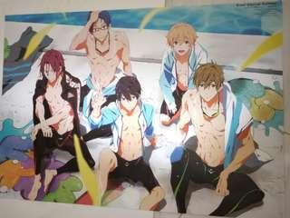 A3 Free! Poster