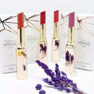 Purbasari Metalic Matte Colour Lipstick