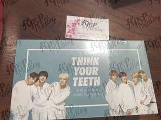 (ON HAND) Sealed Official VT x BTS Toothbrush Set - Think Your Teeth