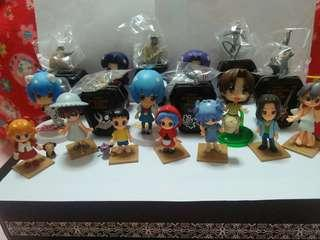 Cute figurines& key Chain( all for $15)