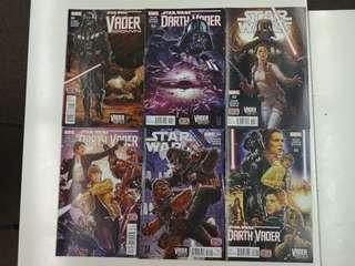 Star Wars Vader Down (2015) Comics Set