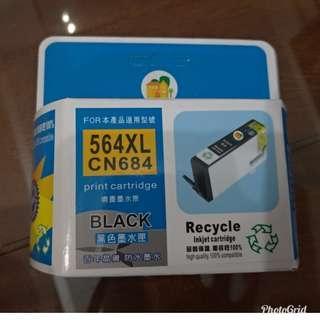 🚚 大容量黑色相容墨水匣564XL/564適於於 HP 5510/5520/3520/3070A/C309