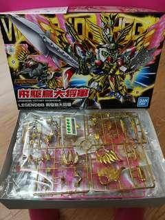 Bandai Gundam BB 戰士 魂限 Lengend BB 飛驅鳥大將軍 模型 一盒 (全新未砌 不連特典)
