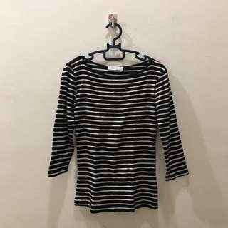 Zara Stripes Long Sleeve Tshirt