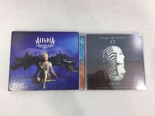 Cirque du Soleil Original Audio CDs