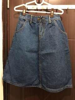 Korea 韓國牛仔半截裙