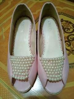 sepatu ank perempuan size. 34