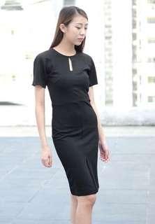 Victoria Beckham inspired bodycon dress